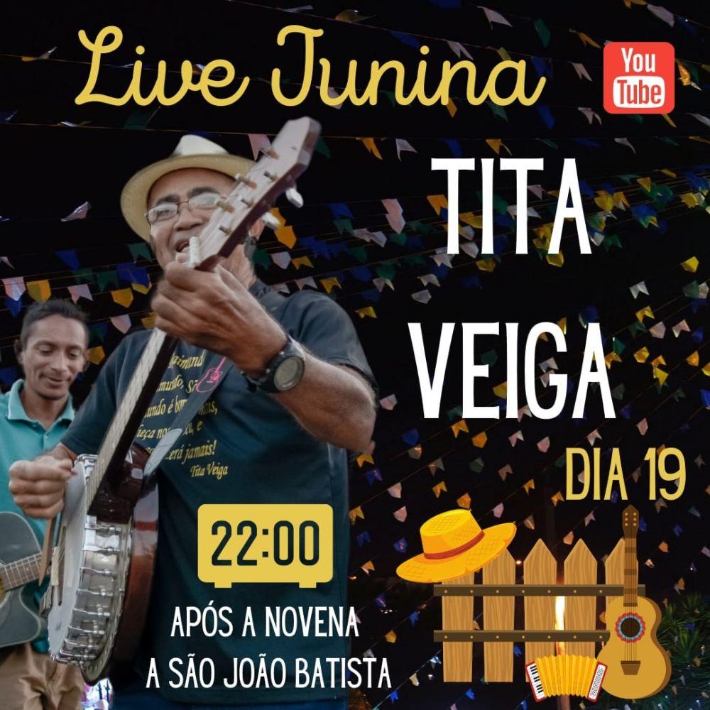 Dia 19/06/2020, Tita Veiga