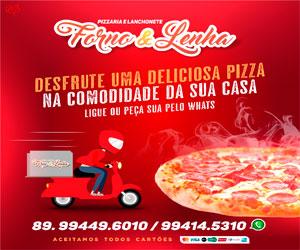 Serviço de delivery Pizzaria Forno & Lenha