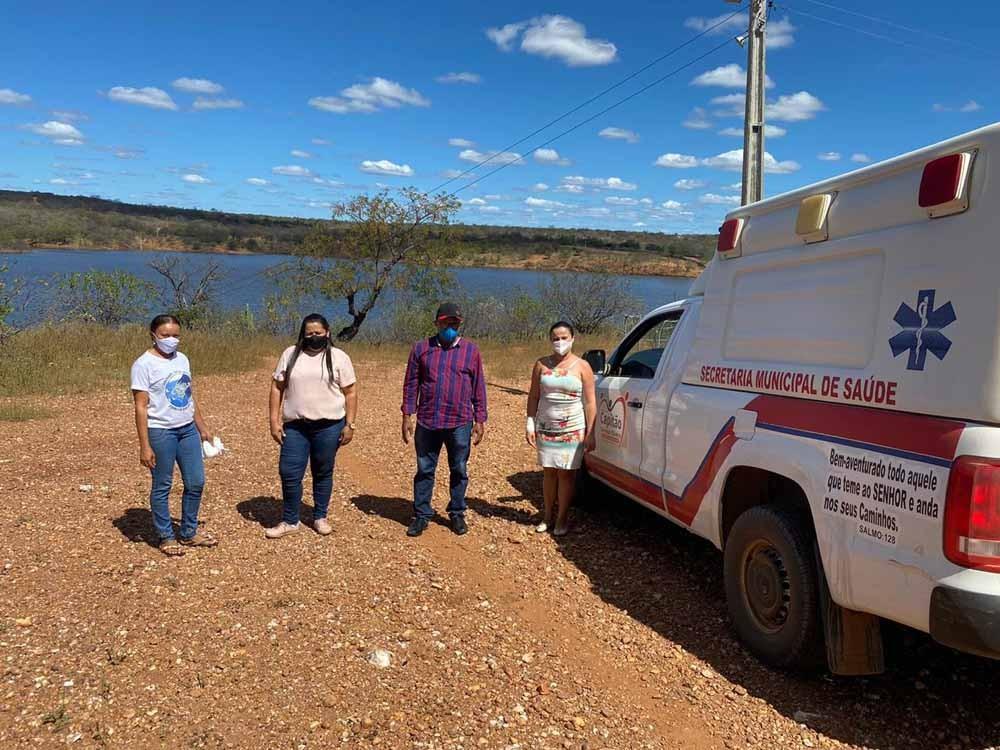 Comunidades da zona rural de Capitão Gervásio Oliveira são beneficiadas com ambulâncias