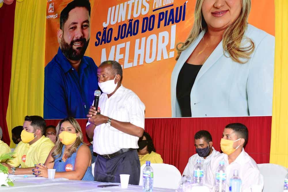 Em convenção, os partidos PSB, PL e PSDB definiram os nomes de Alexandre e Pauliana para as eleições 2020.