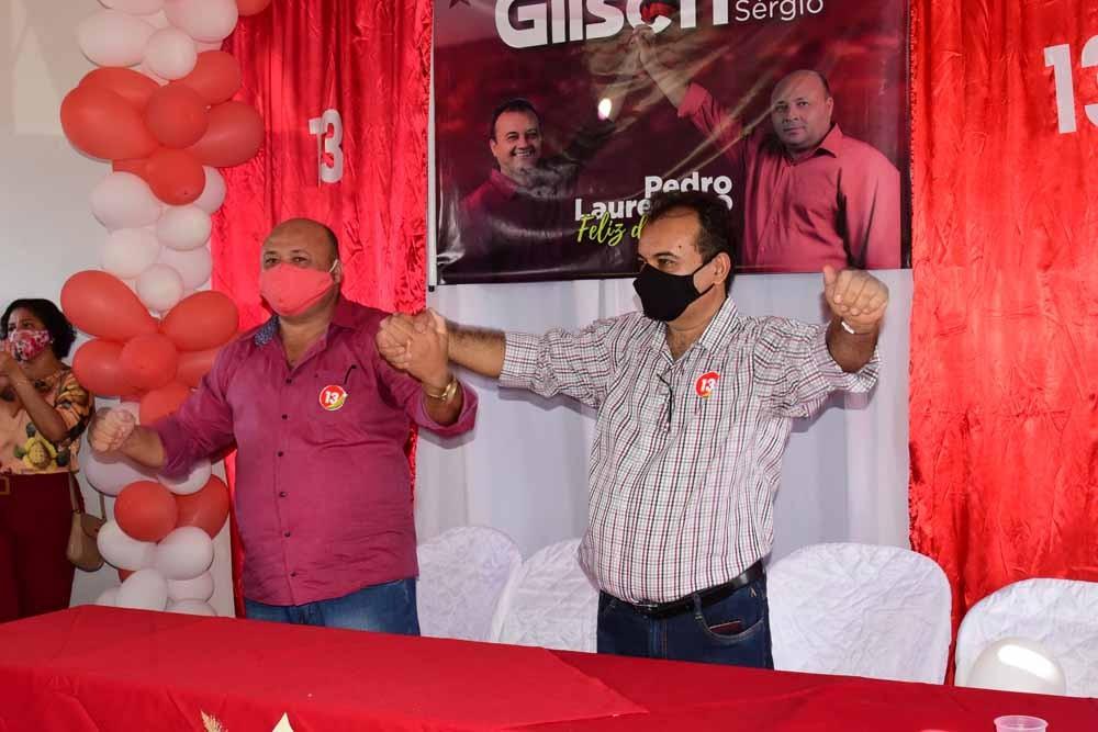 Em Pedro Laurentino convenção partidária define Gilson Eugênio para disputar as Eleições 2020.