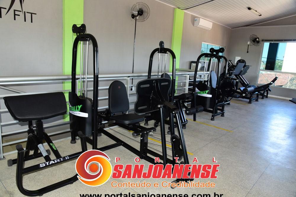 Já está em pleno funcionamento a nova academia para atividades físicas de São João do Piauí