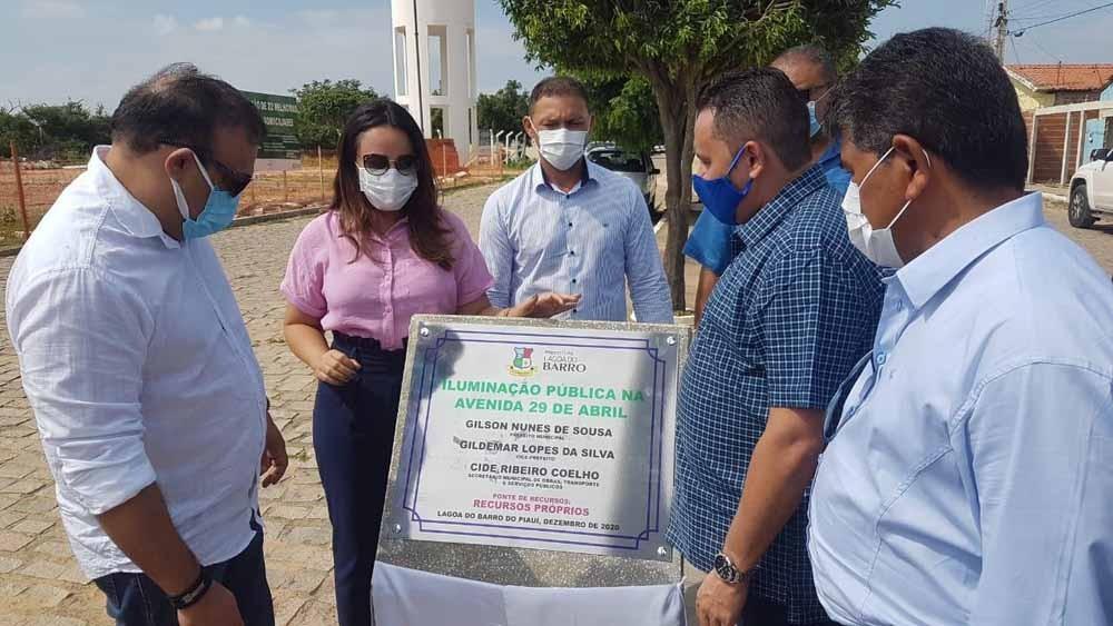 Lagoa do Barro do Piauí recebe investimentos na área da Educação, Agricultura e Segurança