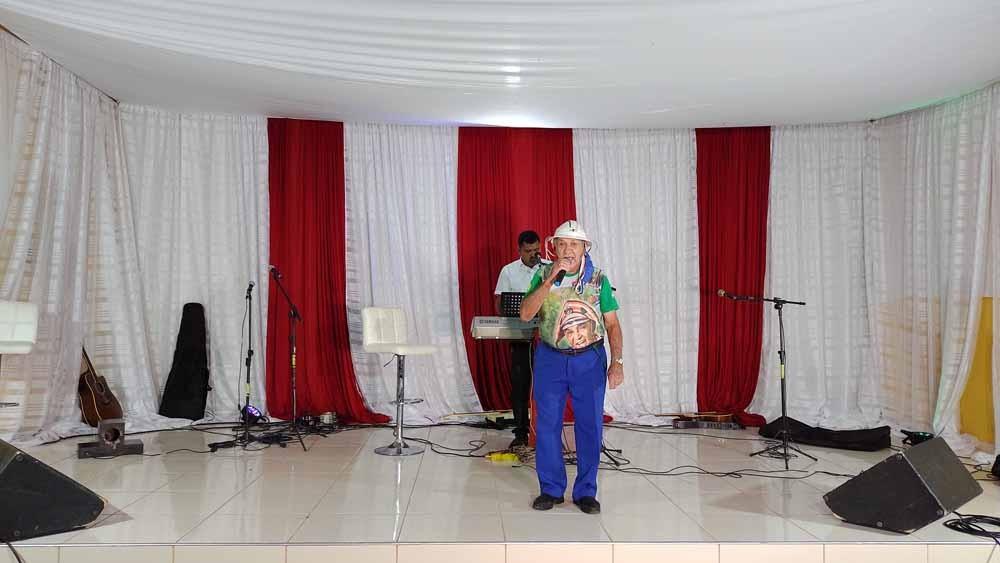 """Paroquias em São João do Piauí realizam live solidarias da Campanha """"É Tempo de Cuidar"""""""