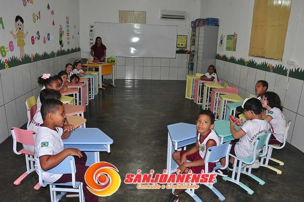 Volta às aulas da CEFHE contou com fé e muita alegria