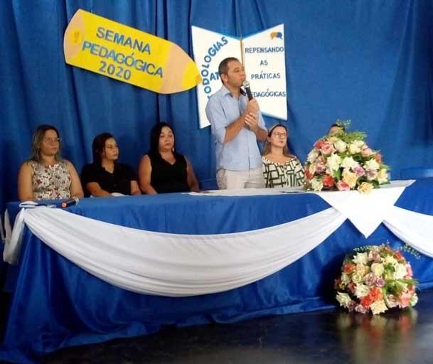 Foi realizada abertura da Semana Pedagógica em Capitão Gervásio Oliveira
