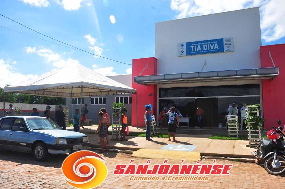 Em São João do Piauí já iniciou a vacinação contra a INFLUENZA (gripe)