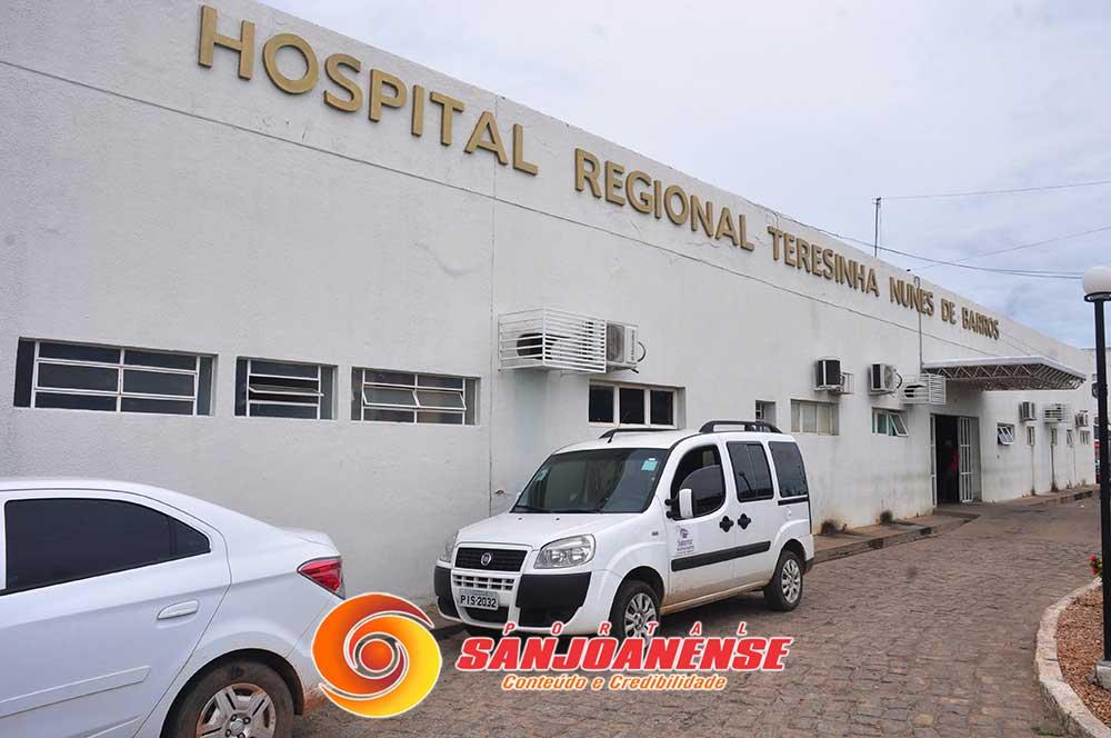 Em São João do Piauí o primeiro paciente diagnosticado com COVID-19 volta a ser internado no hospital