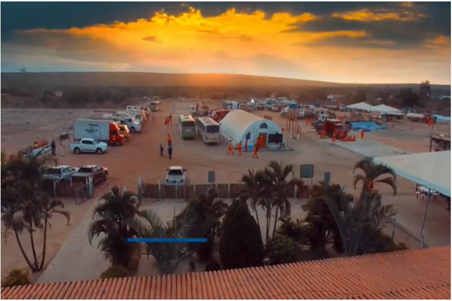 Foto da capa é para fins ilustrativo. Vídeo: AG - Linha de transmissão – Trecho Bahia/Piauí (TBAPI) – FASE 3, YouTobe, postado em 12 de ago. de 2019.