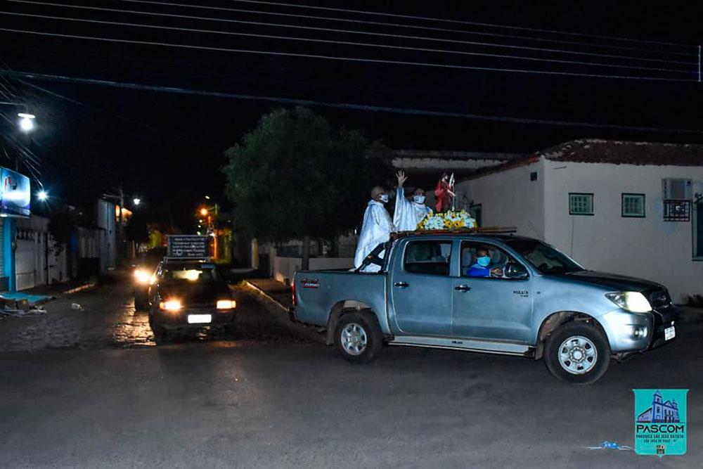 Fotos: Pastoral da Comunicação da Paroquia de São João Batista - PASCOM
