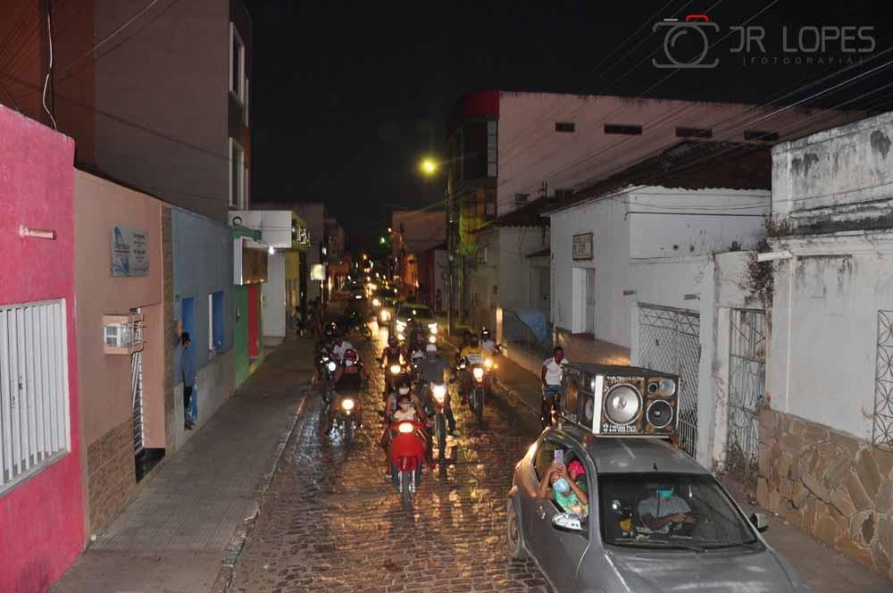 Os Festejos de São João Batista em São João do Piauí encerra com uma grande carreata
